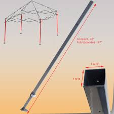 Quik Shade Summit 10x10 Instant Canopy by For Quik Shade Summit Sx170 Adjustable Leg 87