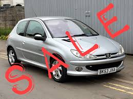 peugeot 206 turbo used peugeot 206 quiksilver for sale motors co uk