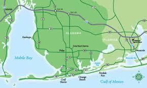 map of gulf coast florida orange maps gulf shores maps alabama gulf coast map