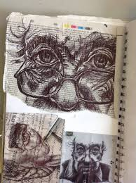 beautiful pen studies see how the use of different grounds can