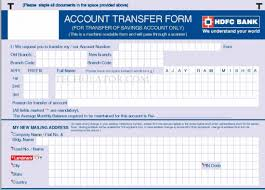how to transfer bank accounts from one branch to another