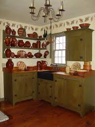 primitive kitchen furniture primitive kitchen cabinets captainwalt