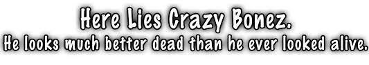 halloween banner png crazy bonez