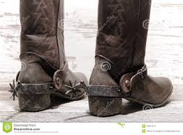 american motorcycle boots american west rodeo western spurs on cowboy boots stock images