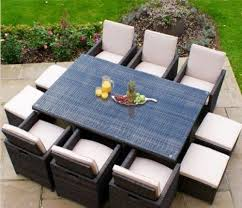 Rattan Outdoor Patio Furniture by Best 20 Rattan Garden Furniture Ideas On Pinterest Garden Fairy