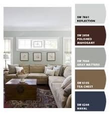 this is the color palette for the bedroom navy on one wall grey