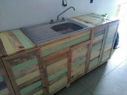 Pallet Wood Kitchen Counter With Sink  Pallets - Kitchen counter with sink