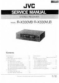 jvc rx330vb vlb service manual immediate download