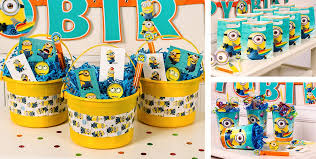 minions party supplies despicable me party favors stickers temporary tattoos puzzle