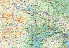 Map Of China Provinces by Detailed Hubei Province Map Hubei Road Map Hubei Railway Map