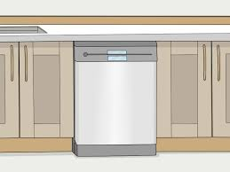 how to install base cabinets with dishwasher 4 ways to install a built in dishwasher wikihow