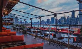 Roof Top Bars In Nyc Penthouse808 Rooftop Bar And Lounge Ultimate View Of The Nyc Skyline