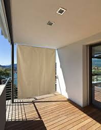seitenmarkise balkon balkon windschutz sichtschutz seitenmarkise sonnenschutz vorhang
