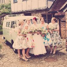 flowers and ribbons find an assortments of floral vintage dresses