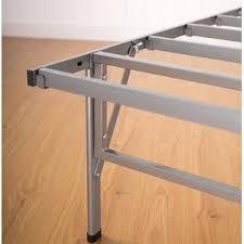 furniture revolution folding metal platform bed frame in size twin