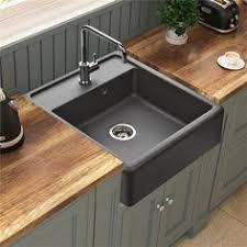 evier cuisine original évier à poser céramique blanc gabin 1 bac 1 égouttoir deb