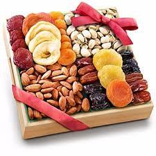 gourmet food basket dried fruit tray gift holidays gourmet food basket savory nuts