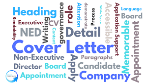 the importance of writing a good board application cover letter