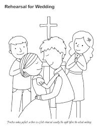 12 wedding coloring pages images wedding