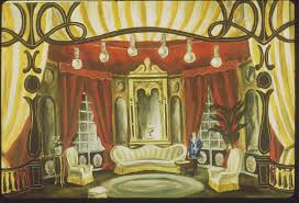 room set design performing arts the red list