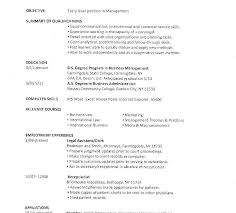 Resume For Summer Job College Student by Example Of College Student Resume Resume Examples For College