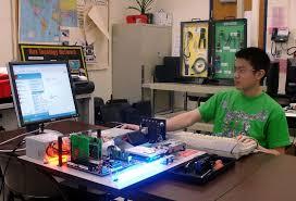 Computer Technician Desk Telecommunications And Wireless Specialist