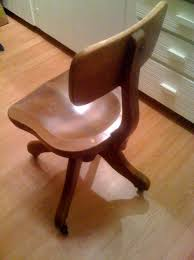 wooden rolling desk chair alluring 25 vintage wood office chair decorating inspiration of