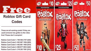 Robux Gift Card Codes - how to get roblox gift card codes free 2018 and roblox robux free