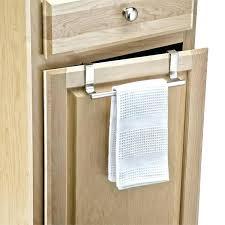 kitchen cabinet towel rail kitchen cabinet door towel rack towel holder for kitchen cabinets