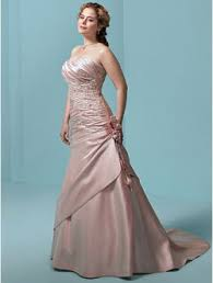 find pink wedding gowns flattering to your body shape