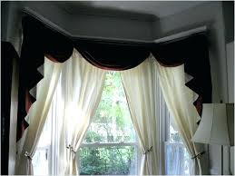 Rods For Bay Windows Ideas Curtain Rod For Bay Window Photo Of Bay Window Curtain Rod Ideas