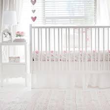 floral crib bedding pink baby bedding pink floral nursery