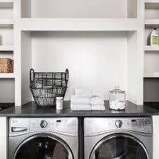 built in laundry room shelving design ideas