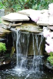 best backyard waterfalls and streams images with awesome backyard