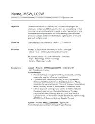 Msw Resume Case Management Resume Samples Social Worker Critical Time