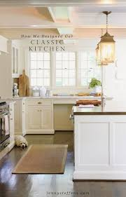 Classic White Kitchen Cabinets The 25 Best Classic White Kitchen Ideas On Pinterest Wood Floor