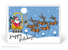 captivating construction christmas cards business 18 in creative