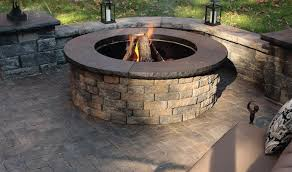 Stone Fire Pit Kits by Fire Pits Mcdonald Garden Center