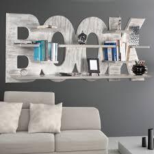 hand decorated bookshelves rhonda with 8 shelves modern design