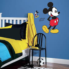roommates 5 in x 19 in black and white flower scroll 22 piece mickey mouse 10 piece peel and stick