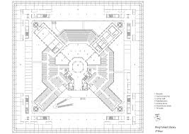Floor Plan Library by Gallery Of King Fahad National Library Gerber Architekten 14