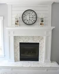 How To Cover Brick Fireplace by Fireplace Redos Brick Anew Fireplace Makeover Diy Fun Picmia