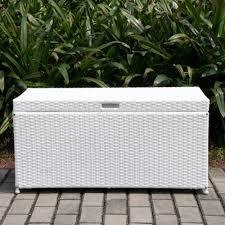outdoor wicker storage cabinet patio furniture cushion storage ideas home designing outdoor