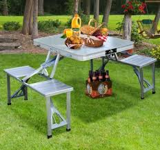 folding camping table ebay