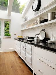 Airy Kitchen Floating Shelves In 11 Functional Kitchen Designs Https