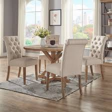 48 by 48 table benchwright rustic x base 48 inch round dining table set by inspire