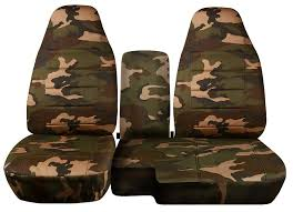 amazon com 1998 2003 ford ranger truck seat covers camouflage