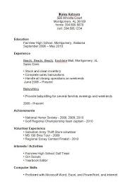 College Grad Resume Examples by College Resume For High Students Best Resume Collection