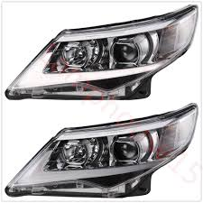 headlights for 2012 2013 2014 toyota camry projector drl new led