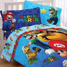 Mario Bedding Set Nintendo Mario Bedding Set Fresh Look Comforter Sheets